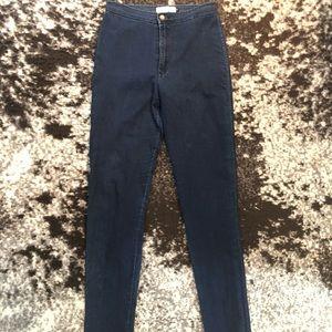 American Apparel Dark Denim Easy Jean